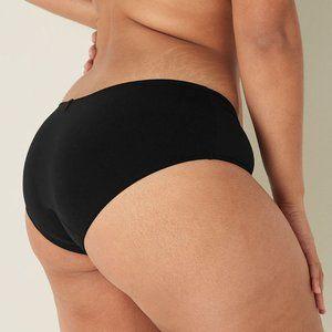 Victoria's Secret black Hipster Period Panty Larg